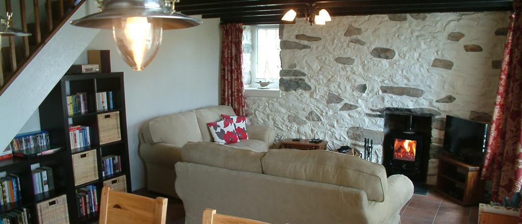 welshbreak Gors-lwyd Cottage Llithfaen - lounge
