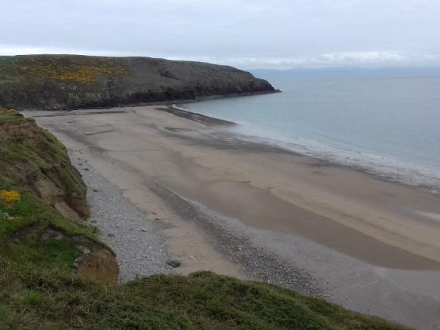 A view of the beach of Porth Ceiriad Abersoch Llŷn Peninsula