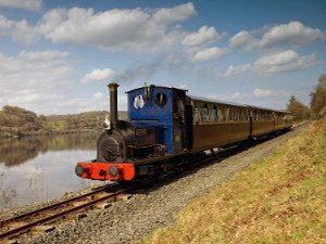 Bala Lake Railway train North Wales