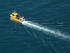 Boat to Bardsey Island from Porth Meudwy Llyn Peninsula