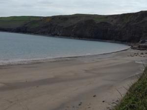 View of Porth Ceiriad Abersoch Llŷn Peninsula
