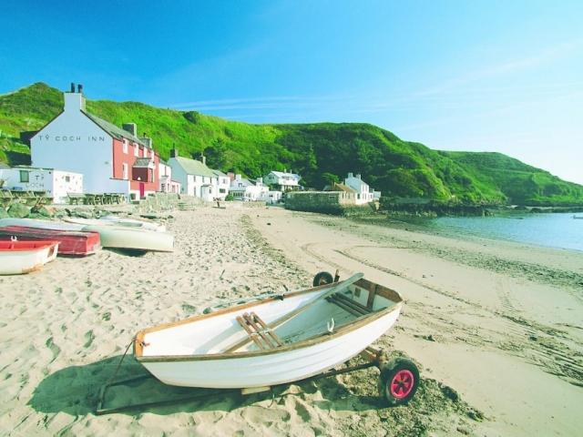Porth Dinllaen Morfa Nefyn Llyn Peninsula