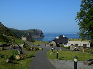 The village of Nant Gwrtheyrn Llyn Peninsula