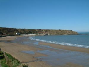 View of Nefyn beach Nefyn Llyn Peninsula North Wales