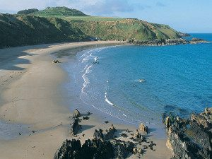 The beach at Porthor Porth Oer Whistling Sands Llyn Peninsula