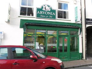 Arvonia Fish and Chips shop Pwllheli Llyn Peninsula
