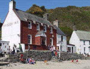 Ty Coch Inn Beach Pub Porthdinllaen Morfa Nefyn Llyn Peninsula  North Wales