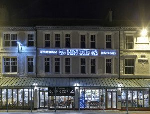 Image of JD Wetherspoons pub in Pwllheli Llyn Peninsula North Wales