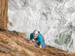 Climbing Rhoscolyn Holy Island Anglesey