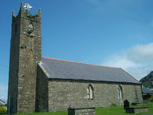 View of St Marys Church in Nefyn. Home to the Llŷn maritime museum