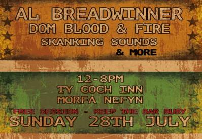 Ty Coch Inn live music 28 July 2019